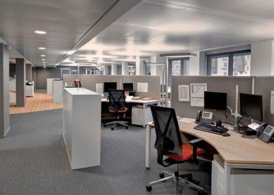 Aménagement Bureaux Open Space